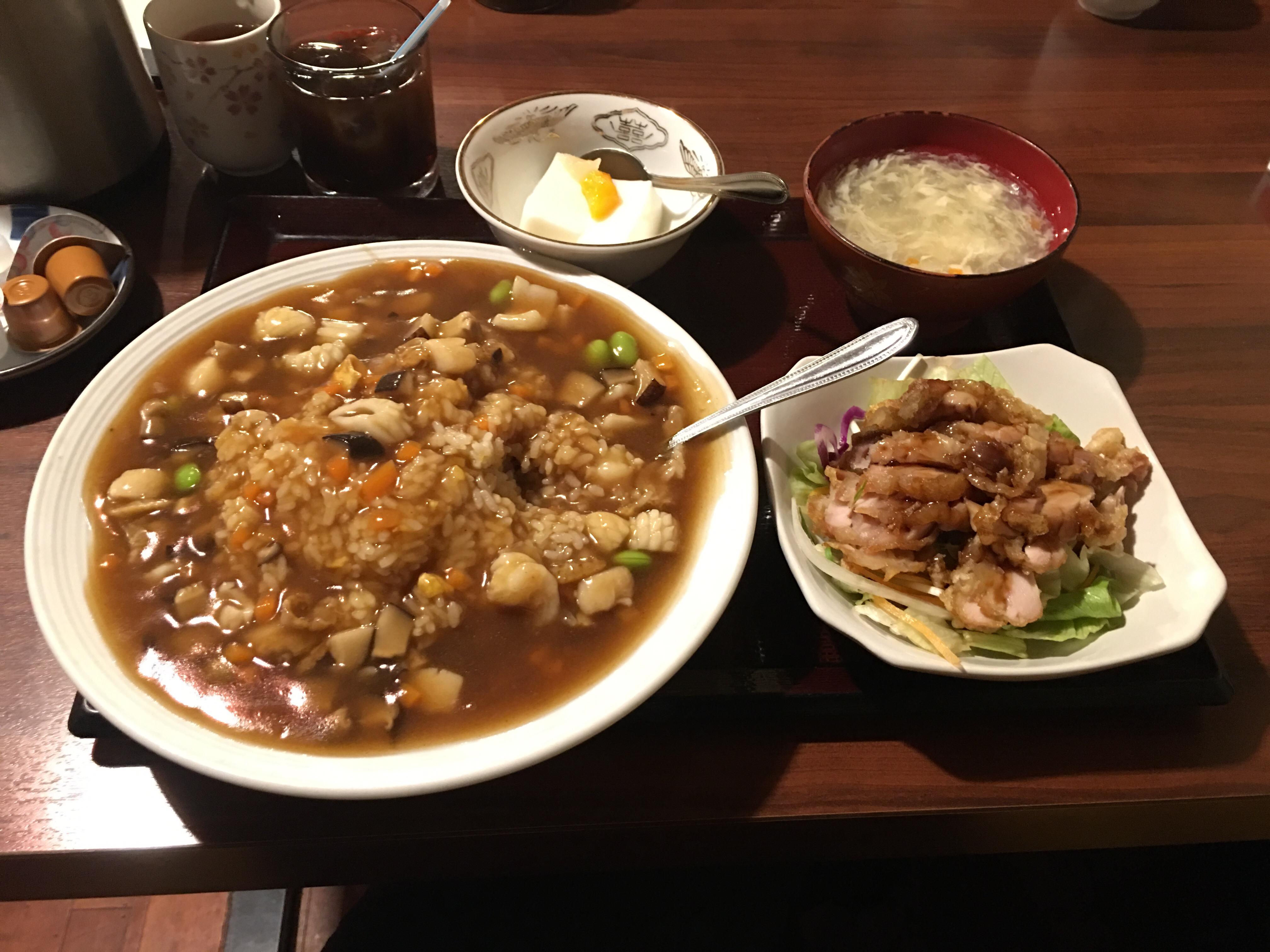 錦糸町で中華ランチ《龍馬》...やっぱり偉大だった。
