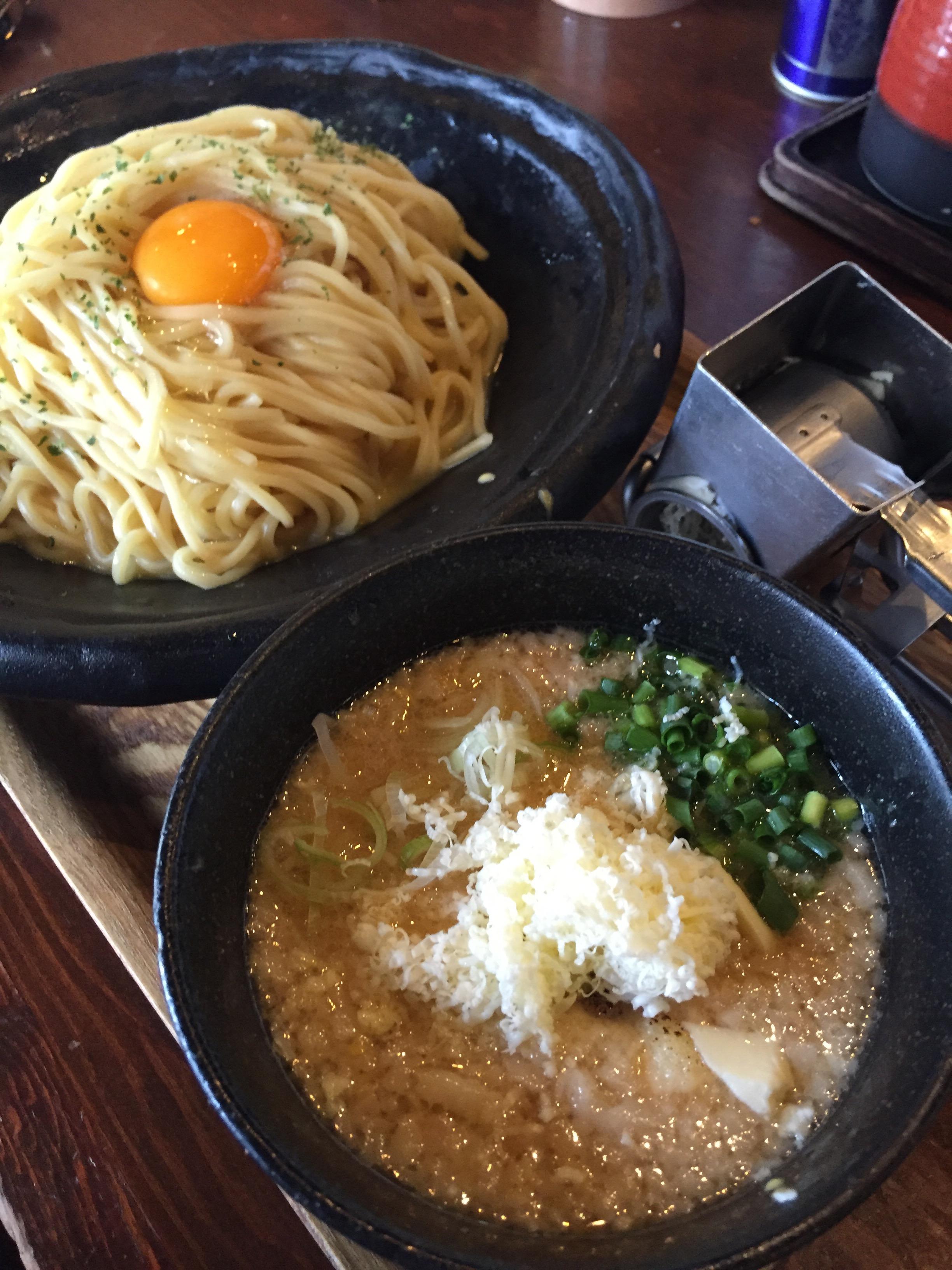 img 1013 【錦糸町ラーメン】七菜矢の豚チーズつけ麺が不思議美味♬